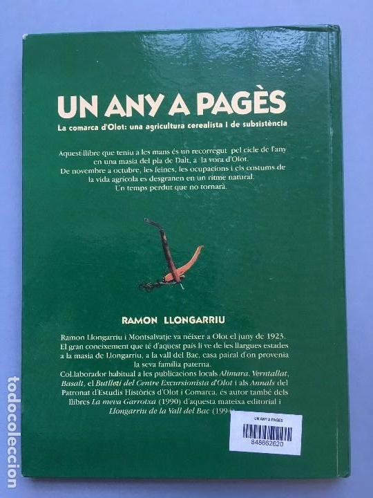 Libros: UN ANY A PAGÈS DE RAMON LLONGARRIU. LIBRO EN CATALAN DE LA EDITORA LLIBRES DE BATET. - Foto 8 - 120616007