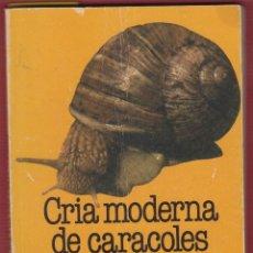 Libros: CRIA MODERNA DE CARACOLES, POR MARIO GAROZZO-MANCA Y MANCA DI VILLAHERMOSA, 71 PAGINAS. LE2411. Lote 128597395