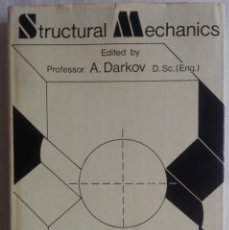 Libros: STRUCTURAL MECHANICS, A. DARKOV, MIR. Lote 130601762