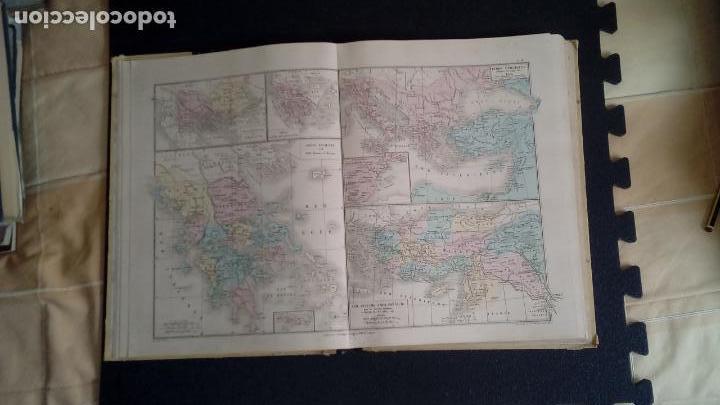 Libros: Atlas De Drioux y Leroy. Geografía Mundial. Finales del XIX. - Foto 5 - 132988290