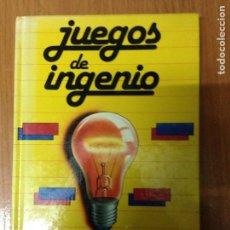 Libros: VIVES, P. - JUEGOS DE INGENIO.. Lote 134714266