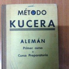 Libros: METODO KUCERA ALEMÁN CURSO ELEMENTAL. Lote 134714745
