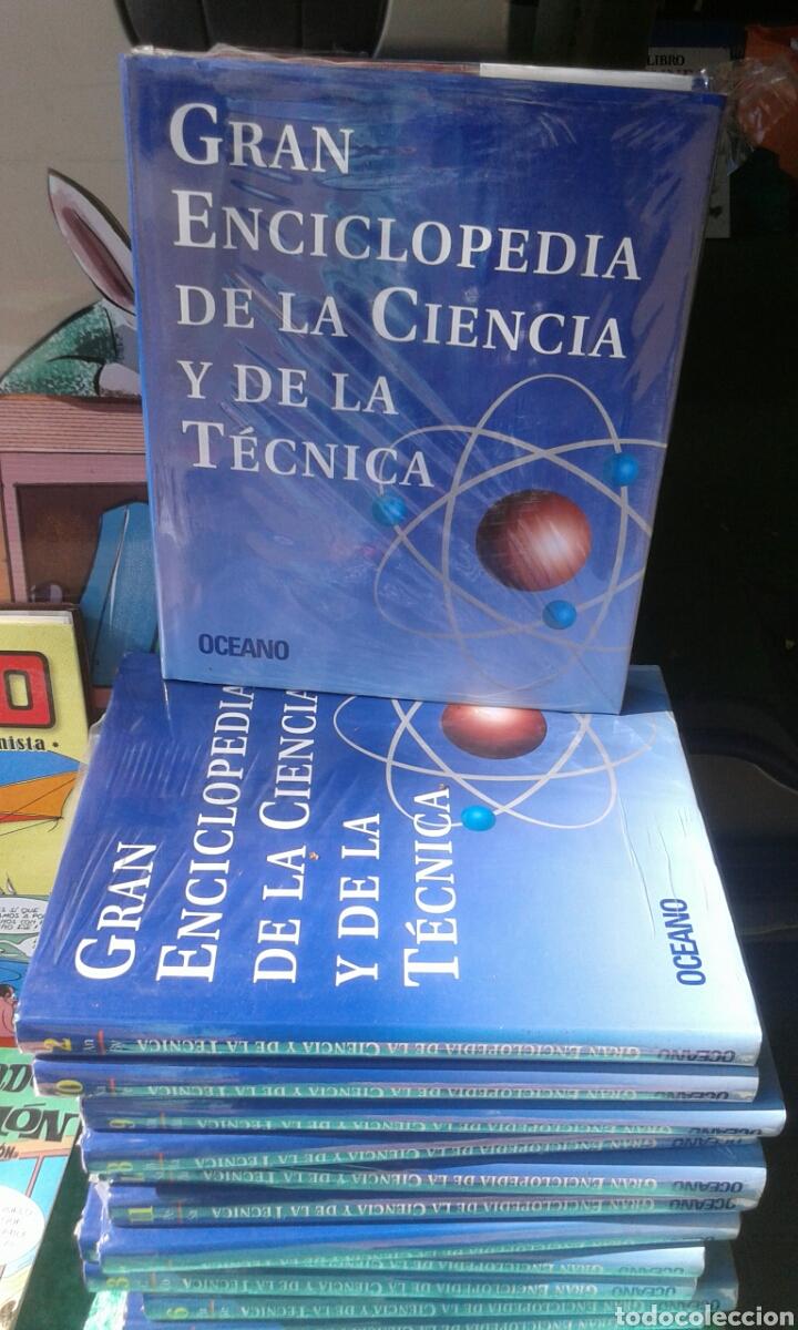 GRAN ENCICLOPEDIA DE LA CIENCIA Y DE LA TÉCNICA. OCEANO (Libros Nuevos - Ciencias, Manuales y Oficios - Otros)