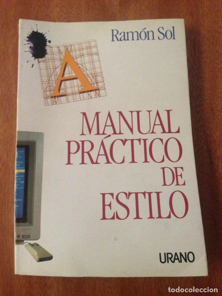 MANUAL PRÁCTICO DE ESTILO (Libros Nuevos - Ciencias, Manuales y Oficios - Otros)