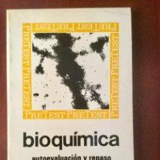 Livros: BIOQUÍMICA, AUTOEVALUACIÓN Y REPASO. MC-GRAW-HILL. Lote 158296722