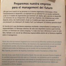 Libros: LIBRO CAMBIEMOS LAS ORGANIZACIONES. Lote 136138132