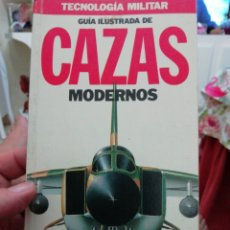 Libros: GUIA ILUSTRADA 2 NUM.CAZAS MODERNOS Y MISILES,DOS TOMOS, TECNOLOGÍA MILITAR. Lote 136421412