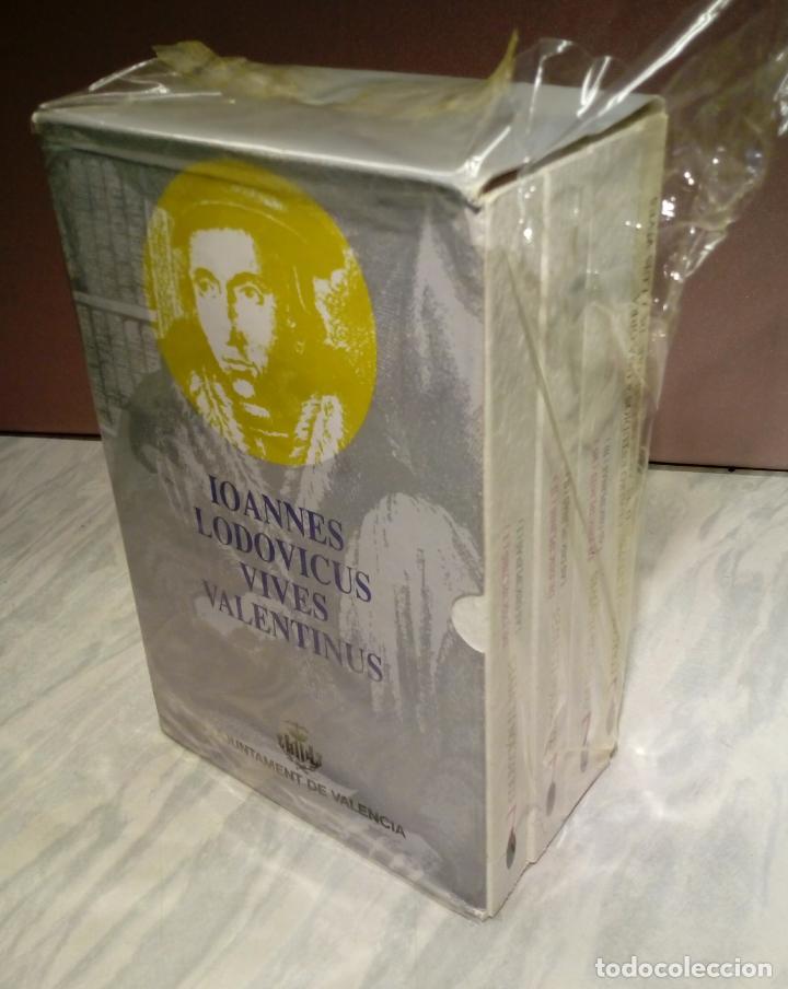 LAS DISCIPLINAS - IOANNES LODOVICUS VIVES VALENTINUS . VOL 7 . 4 TOMOS , NUEVOS SIN USO , VALENCIA (Libros Nuevos - Ciencias, Manuales y Oficios - Otros)