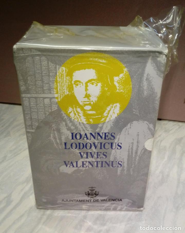 Libros: LAS DISCIPLINAS - IOANNES LODOVICUS VIVES VALENTINUS . VOL 7 . 4 TOMOS , NUEVOS SIN USO , VALENCIA - Foto 3 - 144938634