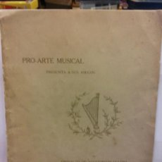 Libros: BJS.PRO-ARTE MUSICAL.BONOS HIPOTECARIOS... Lote 146195662