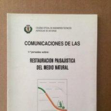 """Libros: RESTAURACIÓN PAISAJISTA DEL MEDIO NATURAL. """"COLEGIO OFICIAL DE INGENIEROS TÉCNICOS AGRÍCOLAS DE AAST. Lote 151389194"""