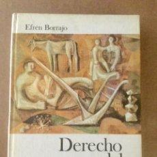 Libros: DERECHO DEL TRABAJO. EFRÉN BORRAJO. DONCEL. Lote 151972242