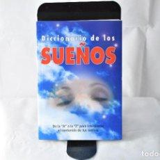 Libros: DICCIONARIO DE LOS SUEÑOS, GÚIA PARA INTERPRETAR LOS SUEÑOS DE LA A A LA Z. Lote 151981946