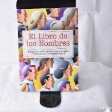 Libros: EL LIBRO DE LOS NOMBRES. MASIÁ, CONCHA. Lote 152011034