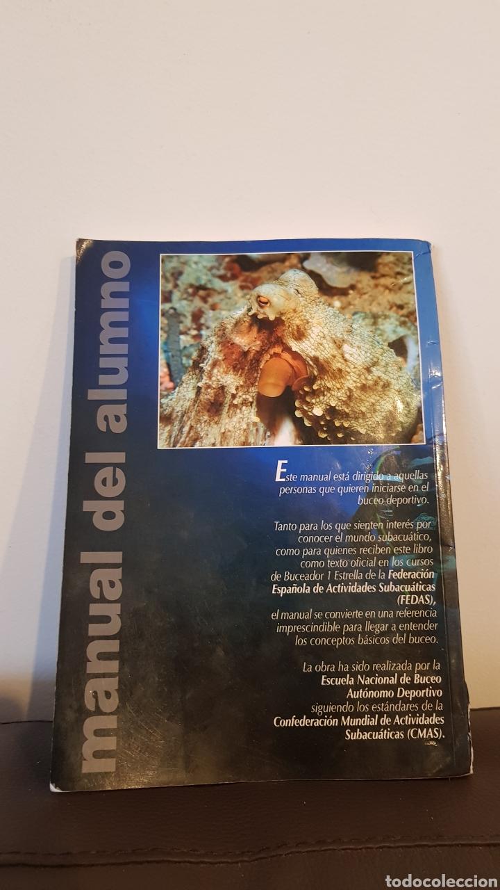 Libros: MANUAL CMAS 1 STAR DIVER 4° EDICION MANUAL DEL ALUMNO - Foto 3 - 152911797