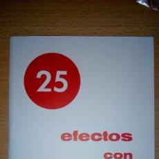 Libros: MAGIA 25 EFECTOS CON CARTAS TRUCADAS CASA MAGICUS 1978 MUY ILUSTRADO CUADERNILLO. Lote 155071361