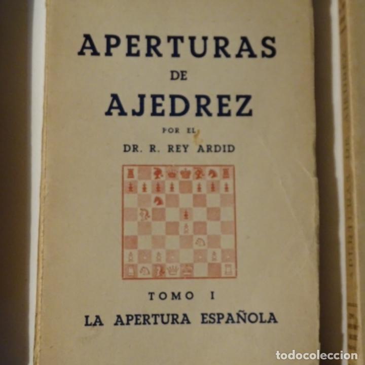 Libros: 5 libroos de ajedrez.rey ardid.aperturas,como jugar,etc.1945 - Foto 3 - 153605194