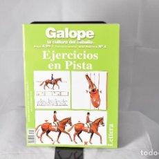 Libros: EJERCICIOS EN PISTA . LA CULTURA DEL CABALLO . WALLACE, JANE. Lote 155146006