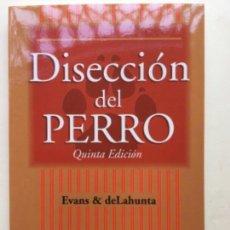 Libros: DISECCIÓN DEL PERRO. MCGRAWHILL. NUEVO. Lote 159263734