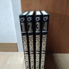Libros: ELECTRICIDAD Y ENERGÍA 4 VOL. EDICIONES NUEVA LENTE MIGUEL J. GOÑI 1985. Lote 160160466