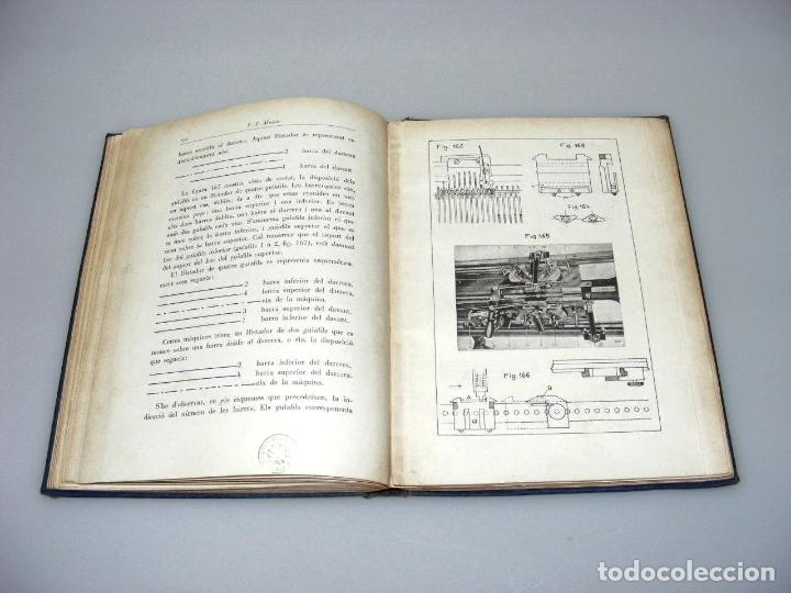 Libros: TRACTAT PRACTIC SOBRE LES MAQUINES TRICOTOSES - 1935 - P.E. MÜLLER.- INTERESANTE. - Foto 5 - 165720006