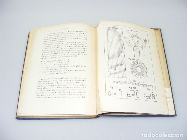 Libros: TRACTAT PRACTIC SOBRE LES MAQUINES TRICOTOSES - 1935 - P.E. MÜLLER.- INTERESANTE. - Foto 6 - 165720006