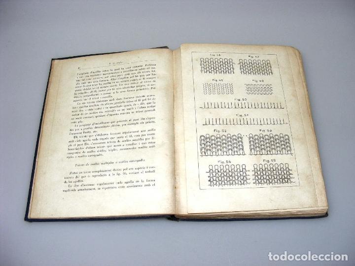 Libros: TRACTAT PRACTIC SOBRE LES MAQUINES TRICOTOSES - 1935 - P.E. MÜLLER.- INTERESANTE. - Foto 7 - 165720006