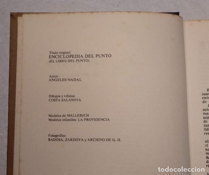 Libros: EL LIBRO DEL PUNTO POR ÁNGELES NADAL - VER FOTOS - Foto 3 - 168312656