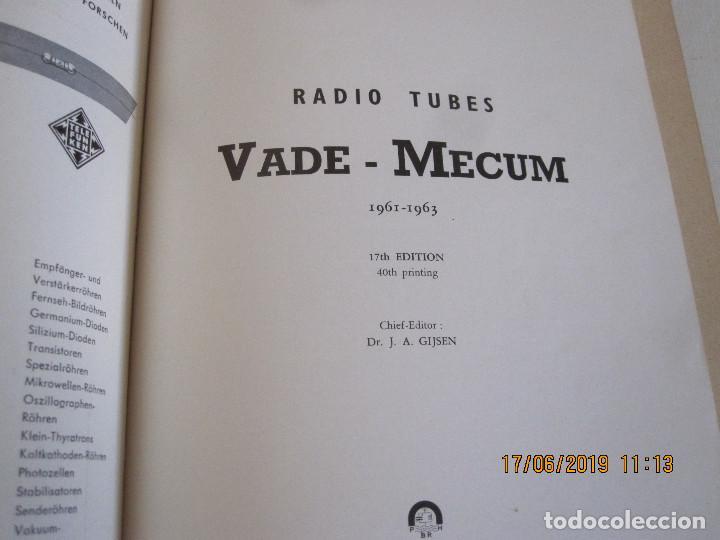 Libros: VADE - MECUM RADIO -TUBES P. H. BRANS DE 1961/1963 - Foto 2 - 168727504