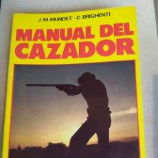 Libros: MANUAL DEL CAZADOR. Lote 168992736