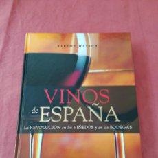 Libros: LIBRO VINOS DE ESPAÑA - JEREMY WATSON - MONTAGUD EDITORES. Lote 169955641