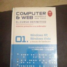 Libros: COMPUTER & WEB. 01.WINDOWS XP, WINDOWS VISTA Y TRUCOS DE HARDWARE. Lote 174184052