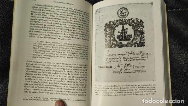 Libros: COSTUMBRES EN COMUN E.P. THOMPSON ( EDITORIAL CRITICA ) - Foto 5 - 175781124