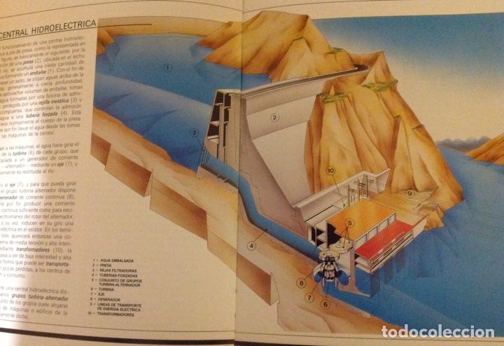 Libros: El mundo de La Luz. Historia de la electricidad. Centrales eléctricas (3 libritos) - Foto 3 - 178985911