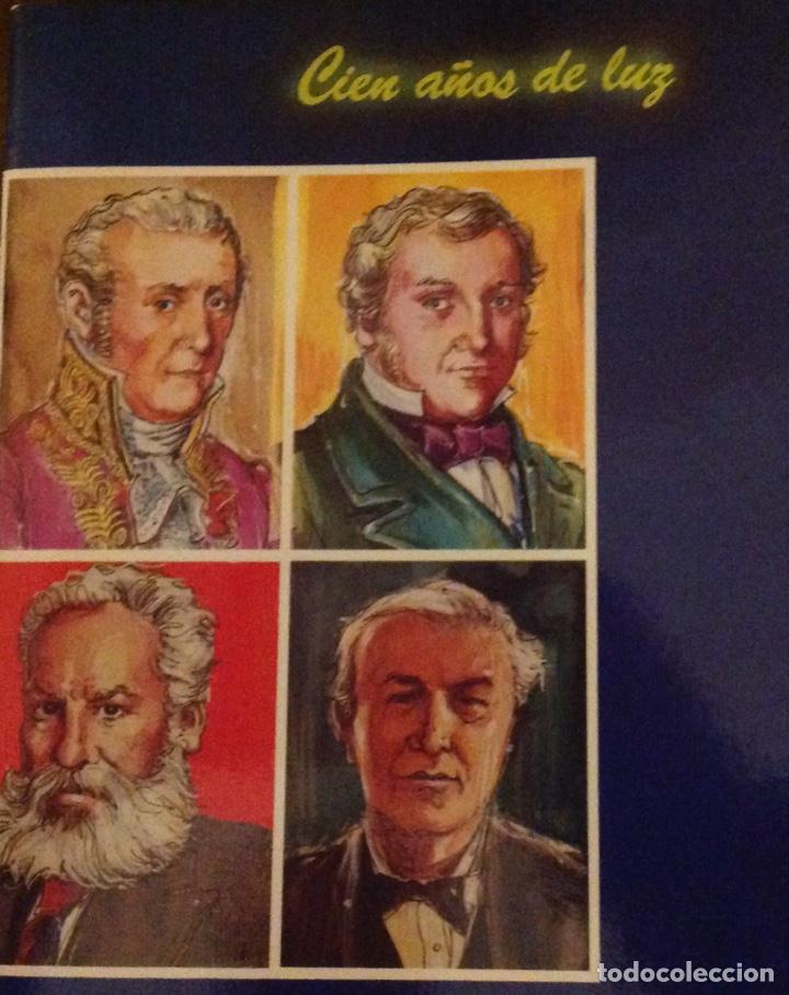 Libros: El mundo de La Luz. Historia de la electricidad. Centrales eléctricas (3 libritos) - Foto 4 - 178985911