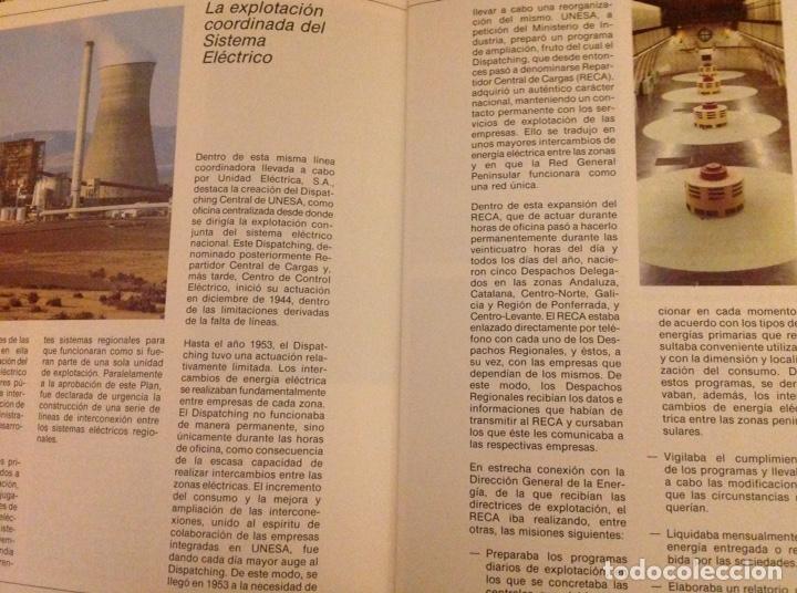 Libros: El mundo de La Luz. Historia de la electricidad. Centrales eléctricas (3 libritos) - Foto 5 - 178985911