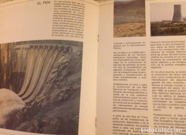 Libros: El mundo de La Luz. Historia de la electricidad. Centrales eléctricas (3 libritos) - Foto 6 - 178985911
