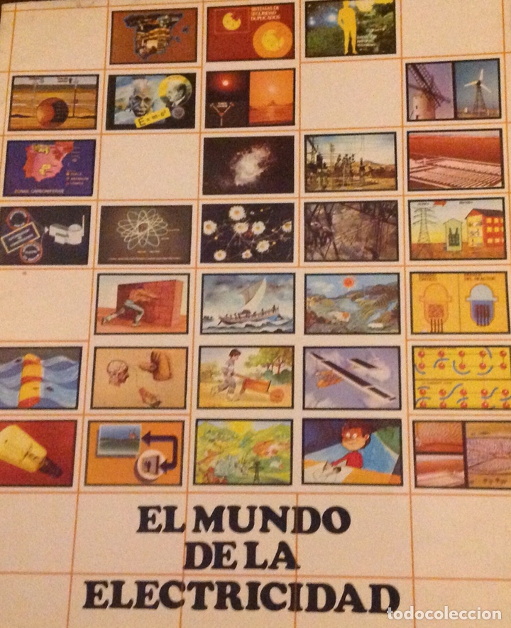 Libros: El mundo de La Luz. Historia de la electricidad. Centrales eléctricas (3 libritos) - Foto 7 - 178985911