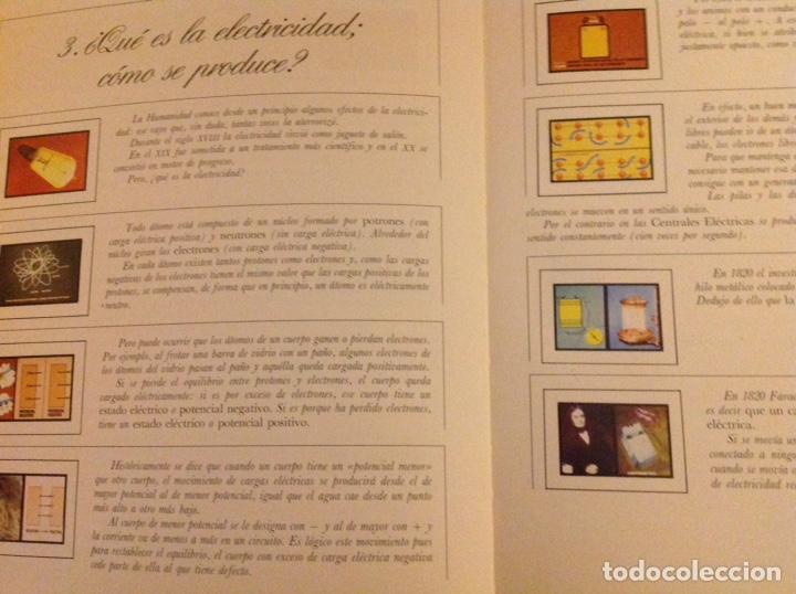 Libros: El mundo de La Luz. Historia de la electricidad. Centrales eléctricas (3 libritos) - Foto 8 - 178985911