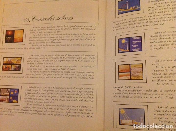 Libros: El mundo de La Luz. Historia de la electricidad. Centrales eléctricas (3 libritos) - Foto 9 - 178985911