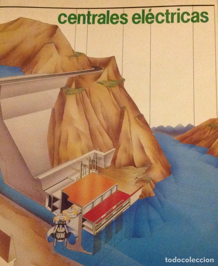 EL MUNDO DE LA LUZ. HISTORIA DE LA ELECTRICIDAD. CENTRALES ELÉCTRICAS (3 LIBRITOS) (Libros Nuevos - Ciencias, Manuales y Oficios - Otros)