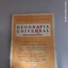 Libros: GEOGRAFÍA UNIVERSAL. Lote 180512720