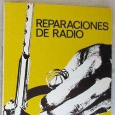 Libros: REPARACIONES DE RADIO AFHA 1975. Lote 183171792