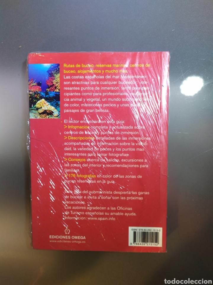Libros: Libro Guía del Submarinista: España, Baleares y Costa Mediterránea - Foto 2 - 183573361