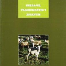 Libros: HERBAJES, TRASHUMANTES Y ESTANTES. LA GANADERIA EN LA PENINSULA IBERICA (EPOCAS MEDIEVAL Y MODERNA). Lote 184472798