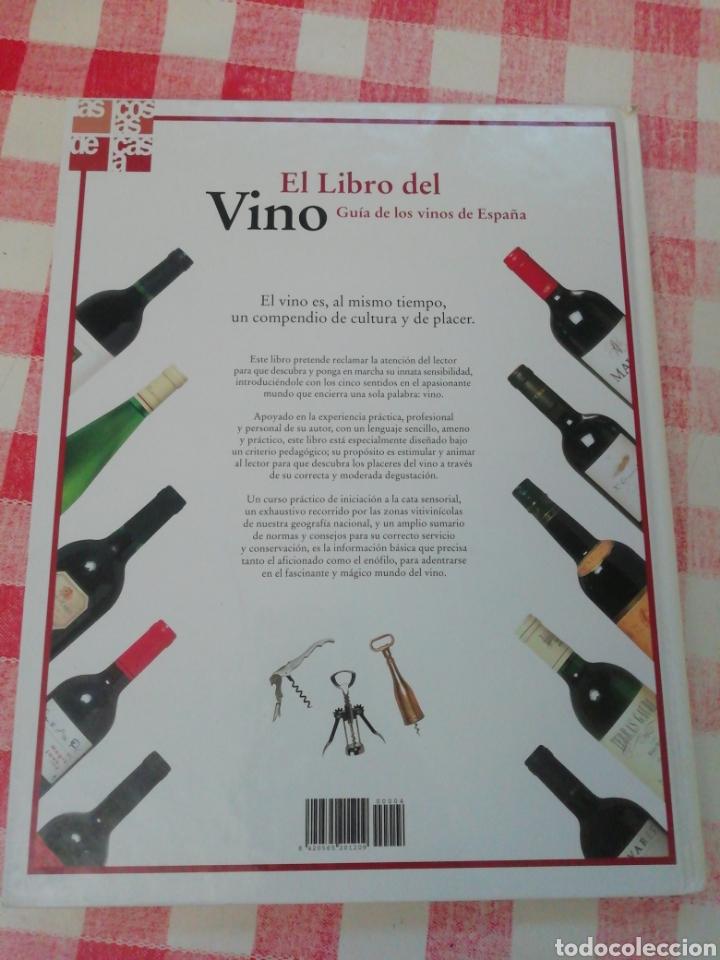Libros: El libro del vino guía de los vinos de España - Foto 3 - 185674906