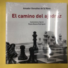 Libros: EL CAMINO DEL AJEDREZ - A. GONZALEZ DE LA NAVA - EDICIONES UNIVERSIDAD DE SALAMANCA 2019. Lote 191711943