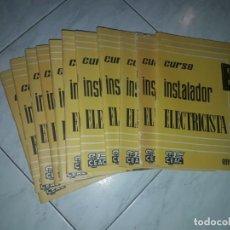 Libros: CURSO INSTALADOR ELECTRICISTA. Lote 194978078