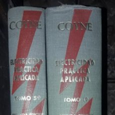 Libros: ELECTRICIDAD PRACTICA APLICADA. Lote 194983640