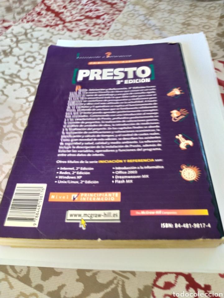 Libros: Presto iniciacion y referencia tercera edicion el mejor libro para hacer presupuesto. - Foto 2 - 196592158